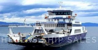 OPEN DOUBLE ENDED PAX/CAR/TRUCK FERRY