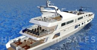 'New building' MEGA YACHT' – DAY PASSENGER – PLEASURE VESSEL