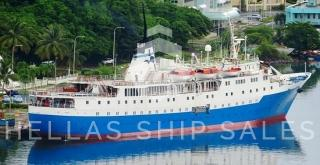 CRUISE VESSEL -with clearance to enter USA ports
