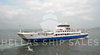 DOUBLE ENDED RORO PASSENGER SHIP x 2