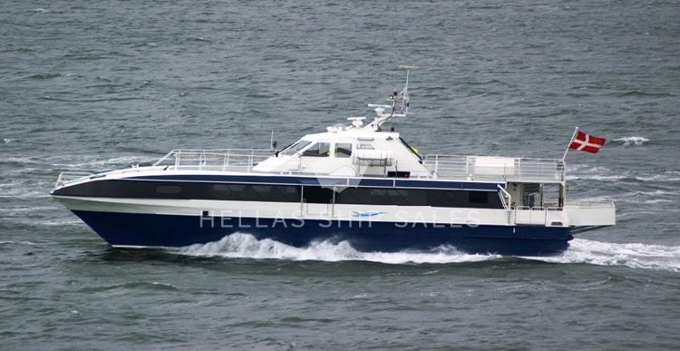 Aluminium passenger catamaran for sale
