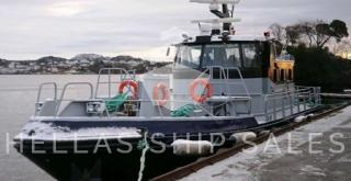 HIGH SPEED ALUMINIUM GUARD/PATROL /PILOT VESSELS– able to carry 12 passengers.