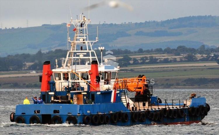 Damen fast crew supply vessel for sale