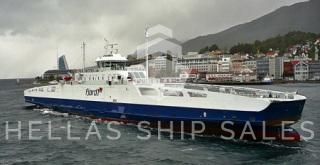 DOUBLE ENDED OPEN TYPE LNG FERRY