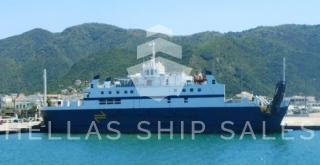 CLOSED TYPE RORO PASSENGER VSL FOR COASTAL TRADE - RINA CLASS